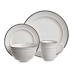 Bolzano White 16-pc. Dinnerware Set