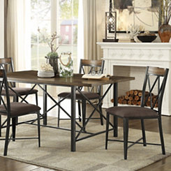 Double X-Bar Dining Chair, Set of 2