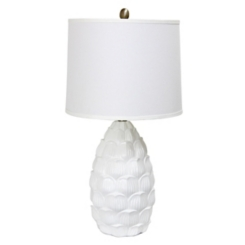 White Petals Table Lamp