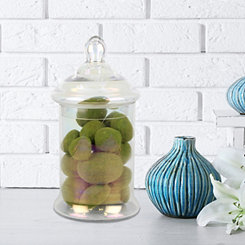 Luster Glass Apothecary Jar, 13 in.