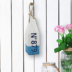 No. 879 Blue Wooden Buoy
