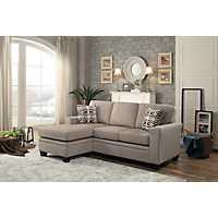 Tan Reversible Sectional Sofa