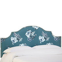 Isleboro Eve Pool Upholstered Queen Headboard