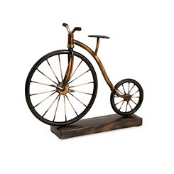 Big Wheel Bicycle Statue