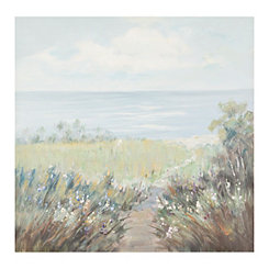 Pathway to the Shore Canvas Art Print