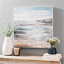 Abstract Seaside Canvas Art Print