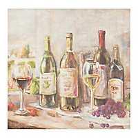 Wine Feast Canvas Art Print
