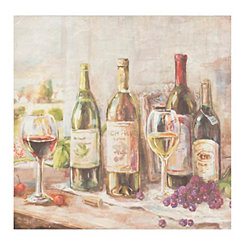 Wine Feast Canvas Art Print