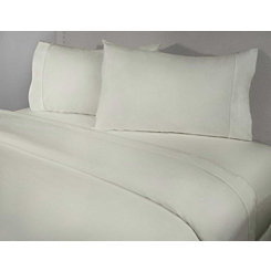 Ivory 4-pc. Cotton King Sheet Set