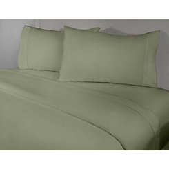 Sage 4-pc. Cotton King Sheet Set