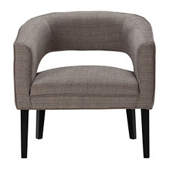 Fog Jasper Open Back Accent Chair