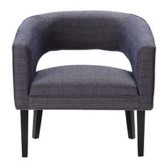 Sapphire Jasper Open Back Accent Chair