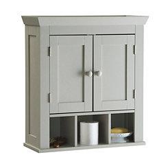 Lucas Ivory 2-Door Wall Cabinet