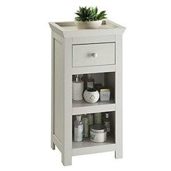 Lucas Vanilla Cappuccino Side Cabinet