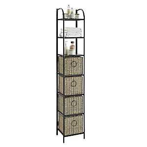 Ethan 4-Drawer Tower Storage Shelf
