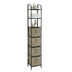 Ethan 4-Drawer Tower Storage Shelf