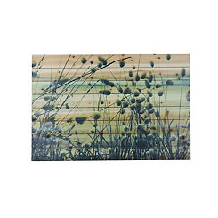 Willow on the Beach Wood Art Print