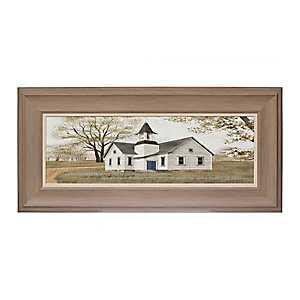 For God so Loved Chapel Framed Art Print