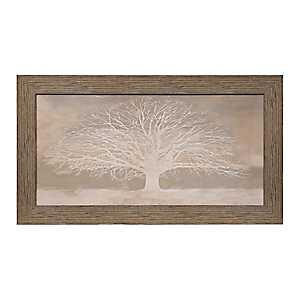 Neutral Tree of Life Framed Art Print