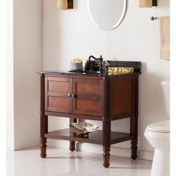 windsor marble top vanity sink 33 in