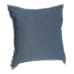 Indigo Dynasty Whipstitch Pillow