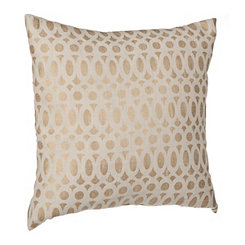 Gold Foil Rings Pillow