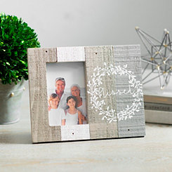 Blessed Slatted Wood Pallet Picture Frame, 4x6