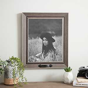 Driftwood Picture Frame with Metal Handle, 11x14