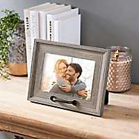 Brown Driftwood Metal Handle Picture Frame, 7x5
