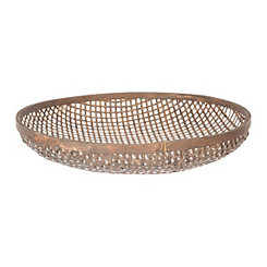 Brown Laura Woven Basket, 20 in.