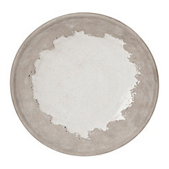 Glazed Ceramic Decorative Plate