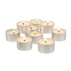White Tealight Candles, Set of 100