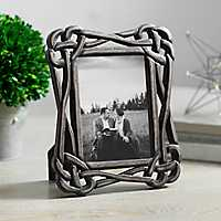 Black Knot Picture Frame, 5x7