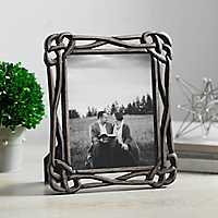 8x10 Inch Black Knot Picture Frame