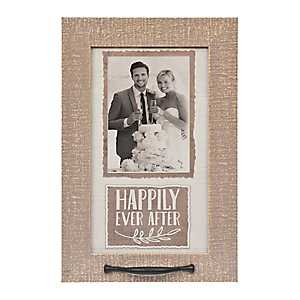 Happily Ever After Windowpane Picture Frame, 5x7