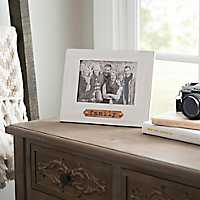 White Wash Family Copper Plaque Picture Frame, 5x7