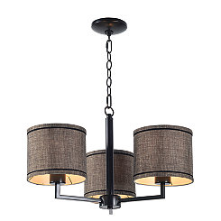 Oil-Rubbed Bronze Margo 3-Light Chandelier