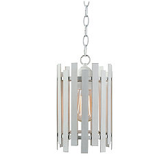 White Picket Fence Pendant Lamp