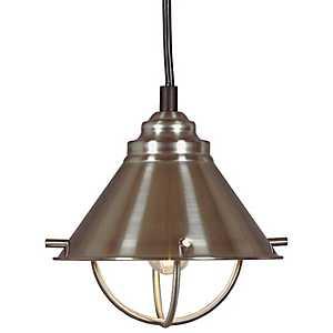 Brushed Steel Harbor LED Pendant Lamp