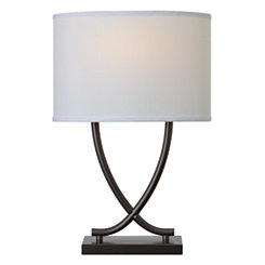 Graphite Valerie Table Lamp