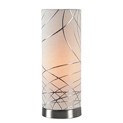 Brushed Steel Circo Uplight