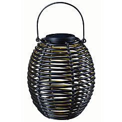 Black Coils Solar Lantern