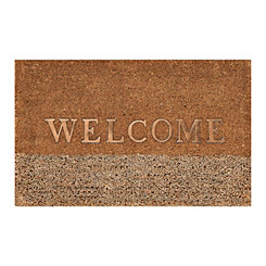 Coir and Seagrass Welcome Doormat