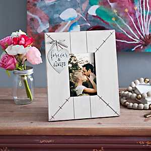 Valentine's Day Forever White Picture Frame, 4x6