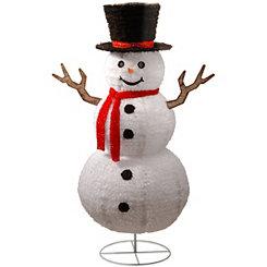 Pop-Up Happy Snowman