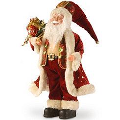 Santa Bearing Gifts Statue