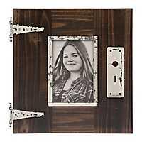 Distressed Barnwood Door Picture Frame, 4x6