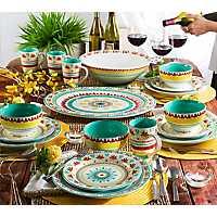 Alecante Multicolor 16-pc. Dinnerware Set