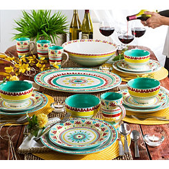 Alecante Multicolor 16-pc. Dinnerware Set