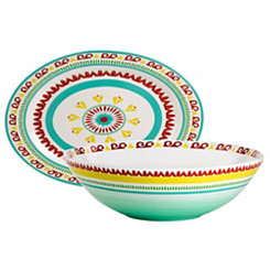 Alecante Multicolor 2-pc. Serving Set